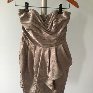 H&M silver dress size 4